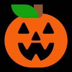 Jack-o-lantern microsoft emoji