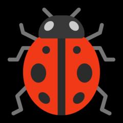 Lady Beetle microsoft emoji