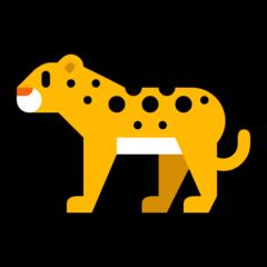 Leopard microsoft emoji