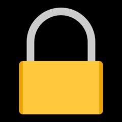 Lock microsoft emoji