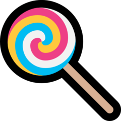 Lollipop microsoft emoji
