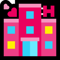 Love Hotel microsoft emoji