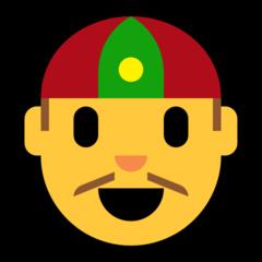 Man With Gua Pi Mao microsoft emoji
