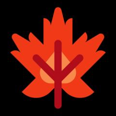 Maple Leaf microsoft emoji