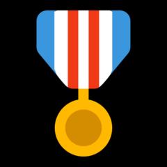 Military Medal microsoft emoji