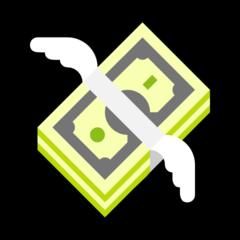 Money With Wings microsoft emoji