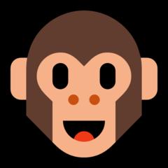 Monkey Face microsoft emoji