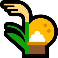 Moon Viewing Ceremony microsoft emoji