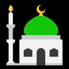 Mosque microsoft emoji