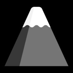 Mount Fuji microsoft emoji
