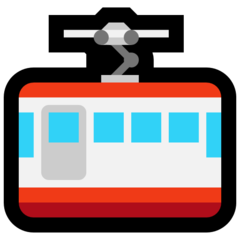 Mountain Cableway microsoft emoji