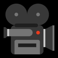 Movie Camera microsoft emoji
