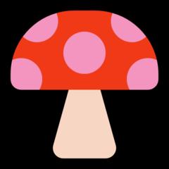 Mushroom microsoft emoji