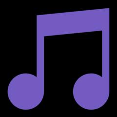 Musical Note microsoft emoji