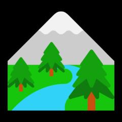 National Park microsoft emoji