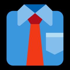 Necktie microsoft emoji