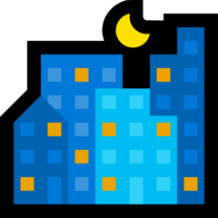 Night With Stars microsoft emoji
