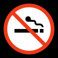 No Smoking Symbol microsoft emoji