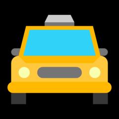 Oncoming Taxi microsoft emoji