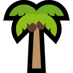 Palm Tree microsoft emoji