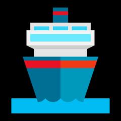 Passenger Ship microsoft emoji