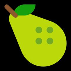 Pear microsoft emoji