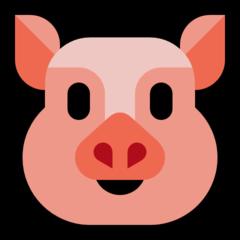 Pig Face microsoft emoji