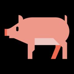 Pig microsoft emoji