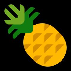 Pineapple microsoft emoji
