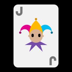 Playing Card Black Joker microsoft emoji