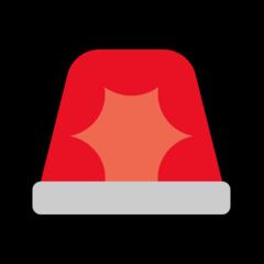 Police Cars Revolving Light microsoft emoji