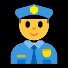 Police Officer microsoft emoji
