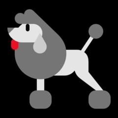 Poodle microsoft emoji