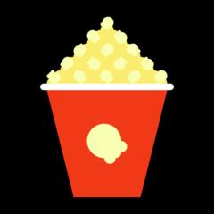 Popcorn microsoft emoji