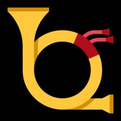 Postal Horn microsoft emoji