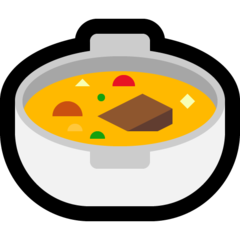 Pot Of Food microsoft emoji