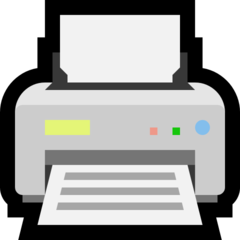 Printer microsoft emoji