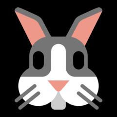 Rabbit Face microsoft emoji