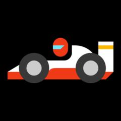 Racing Car microsoft emoji