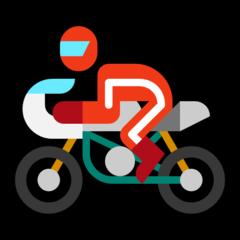 Racing Motorcycle microsoft emoji