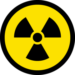 Radioactive Sign microsoft emoji