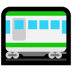 Railway Car microsoft emoji