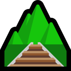 Railway Track microsoft emoji