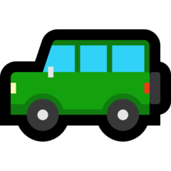 Recreational Vehicle microsoft emoji