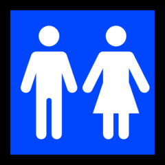 Restroom microsoft emoji