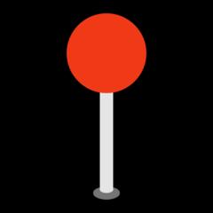 Round Pushpin microsoft emoji