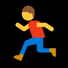 Runner microsoft emoji