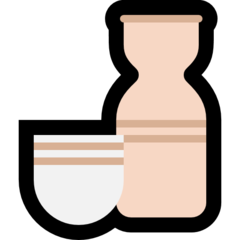 Sake Bottle And Cup microsoft emoji