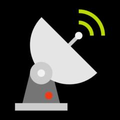 Satellite Antenna microsoft emoji