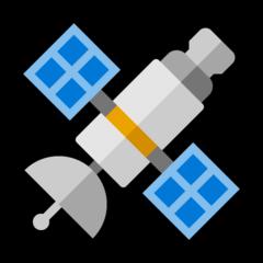 Satellite microsoft emoji
